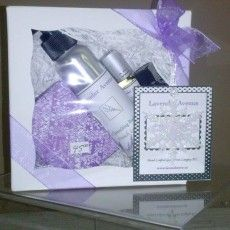 The Ultimate Lavender Gift:  1 Organic Lavender Quench Body Lotion 1 Organic Lavender Shea Butter Soap 1 Organic Lavender Roll-on Perfume Oil  1 Organic Lavender Essential Oil