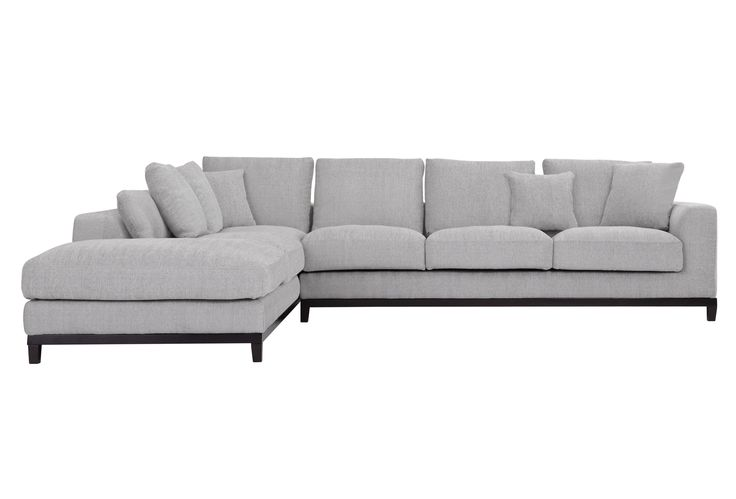 Kellan Sectional Sofa with Left Chaise, Light Gray - Sectionals - Sofas - Capsule