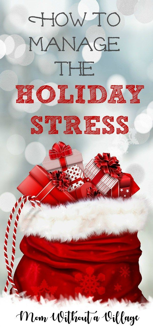 Christmas is a wonderful time of year, but can also be very stressful. Keep reading to find the best way to manage holiday stress this year.