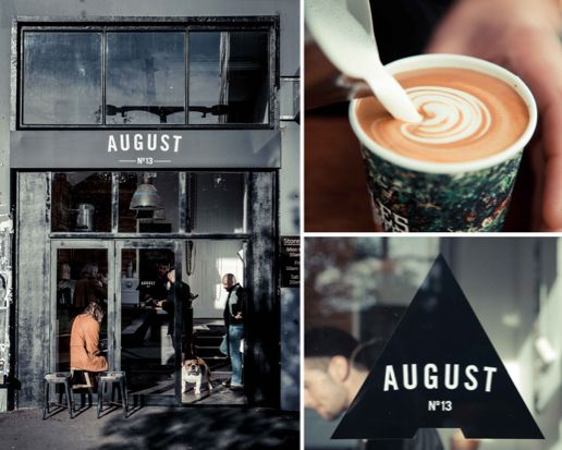August, an exhibition space and cafe in Wellington, New Zealand.
