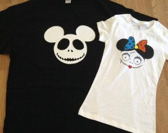 halloween couple shirts