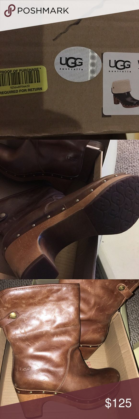 Ugg Lynnea Boots! Worn a few times, Authentic beautiful Uggs Lynnea Size 7! UGG Shoes Ankle Boots & Booties