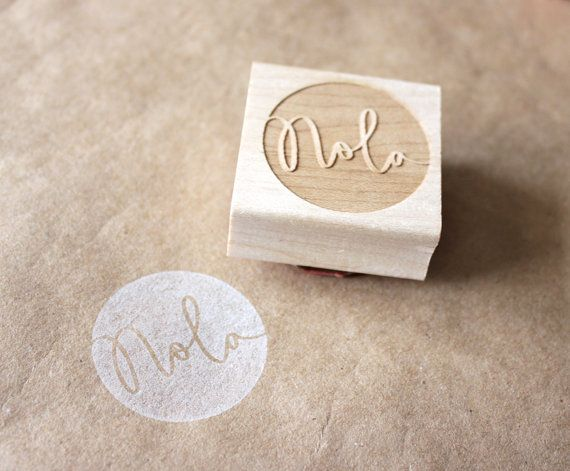 custom name stamp by eatpraycreate
