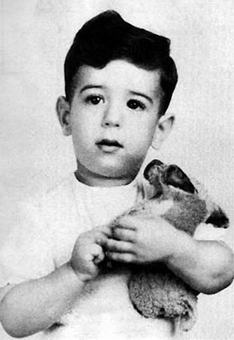Frank Zappa as a child. Just an amazing Human. Ever see him play the bicycle?