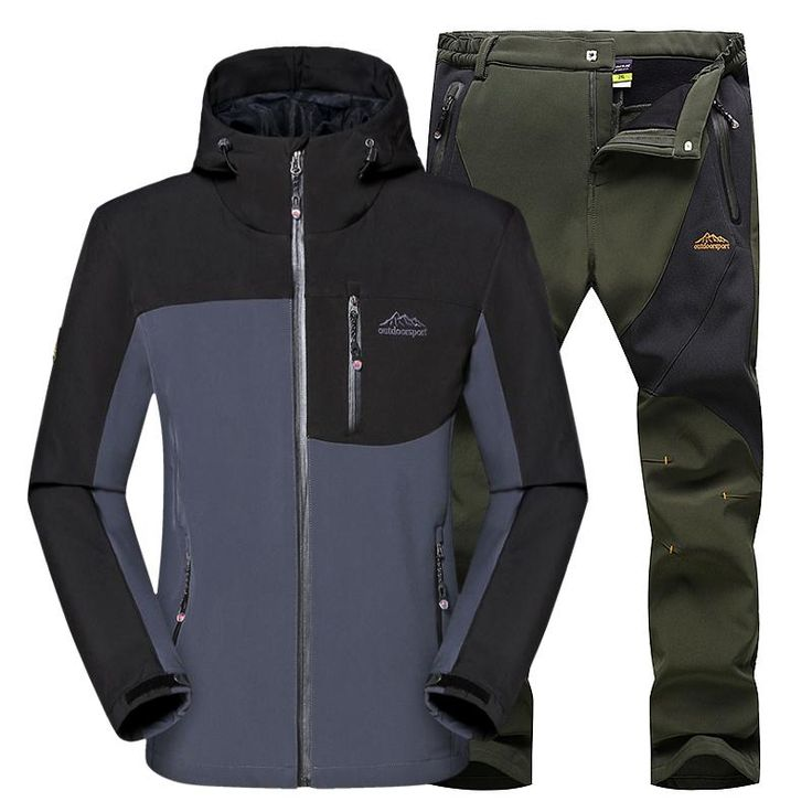 Softshell Jacket Men Hiking Clothing Waterproof Sport Jacket Winter Sports Jacket Windproof Outdoor Clothing Mens Sport Coat