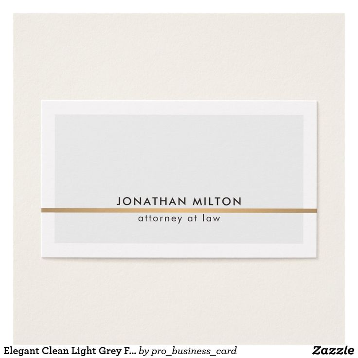 1021 best business cards on zazzle we love design our design elegant clean light grey faux copper line attorney business card reheart Gallery