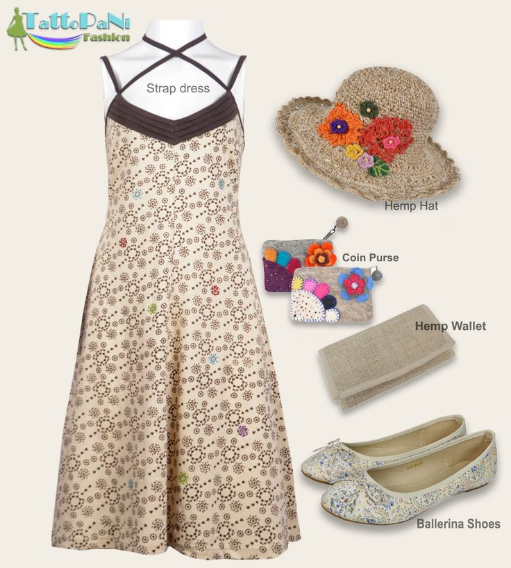 Tattopani Fashion Combo 7 Available @www.tattopani.com @www.bermoni.com #tattopani #tattopaniaccessories #bermoni #bermoniaccessories #dresses #strapdress #ballerinashoes #hemphats🌱 #hempwallets #coinpurse #summerstyle #fashionable #naturalcolors