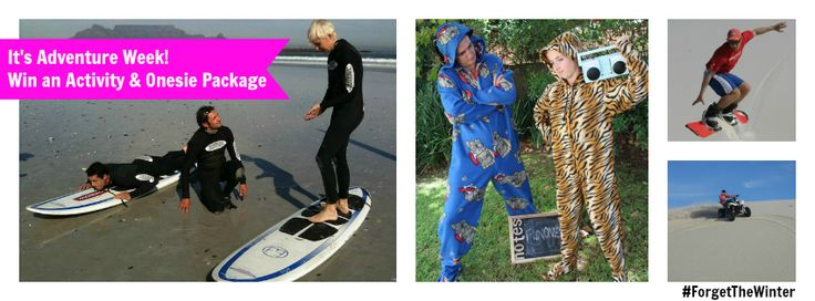 Week 3 Competition for #ForgetTheWinter - Adventure Sports and Onesie Package!