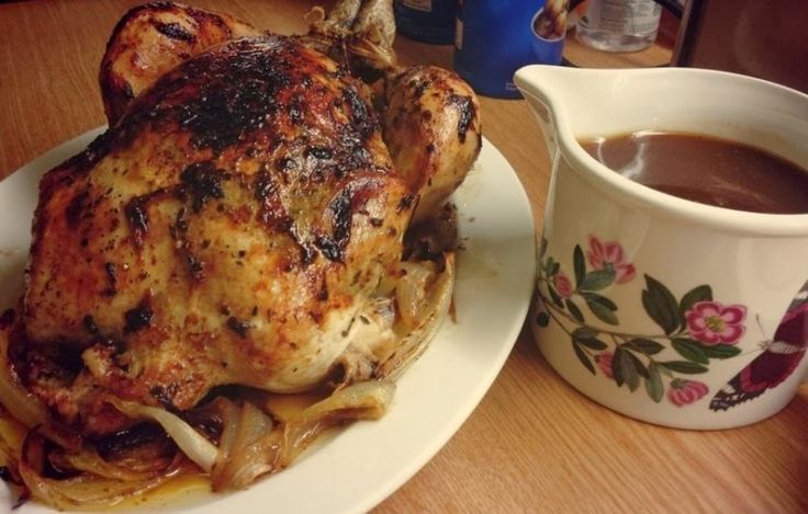 Resep Ayam Kalkun Panggang Bumbu Lada resep ayam panggang dengan gravy saus coklat