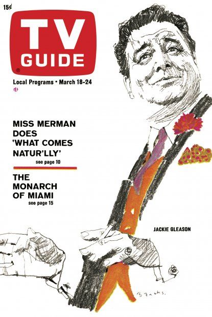 TV Guide: March 18, 1967 - Jackie Gleason