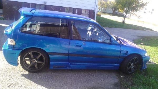 1989 Honda Civic Hatchback.