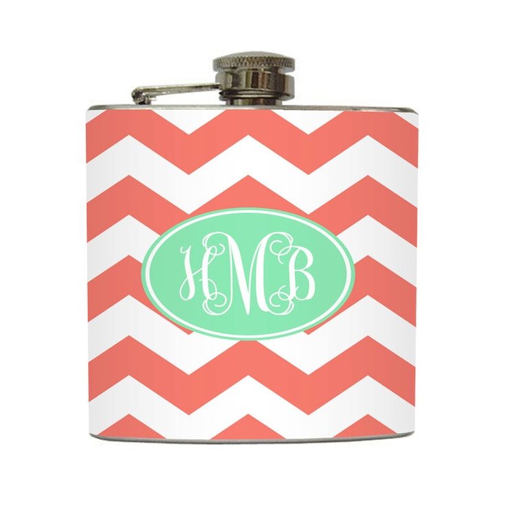 mint chevron patterns coral - photo #44