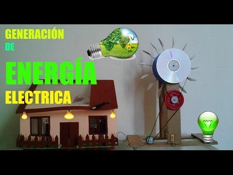 ✔ Generación de Energía Eléctrica - Hidroeléctrica a escala - Electric Power Generation - YouTube