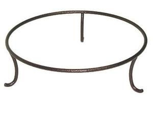 """8"""" Wrought Iron Bowl Stand - Black - $16.95"""