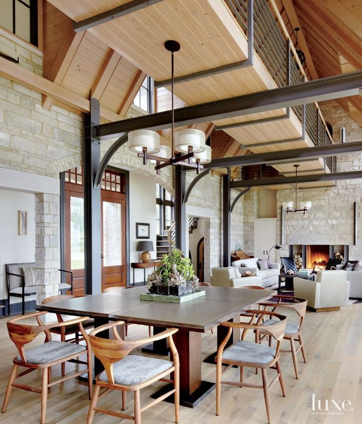 25 best ideas about steel beams on pinterest barra bar for Steel beam house plans
