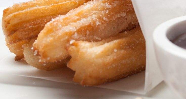 Churros make an excellent picnic dessert because they don't require utensils, and are DELICIOUS! http://gustotv.com/recipes/snacks/churros/