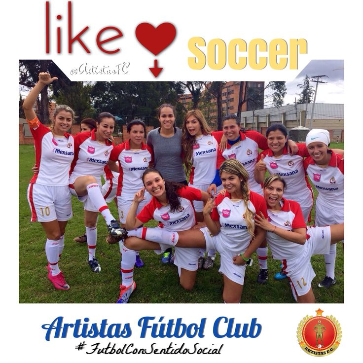 Artistas Fútbol Club Femenino  #FamosoSolidariosColombia