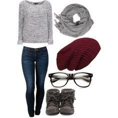 """""""winter"""" by iloveclothesxo on Polyvore   teen outfit , casual outfit , cute outfit , teen outfits , school outfit , high school outfit , movie outfit …"""