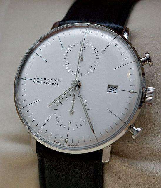 My next watch. Junghans Max Bill Chronoscope