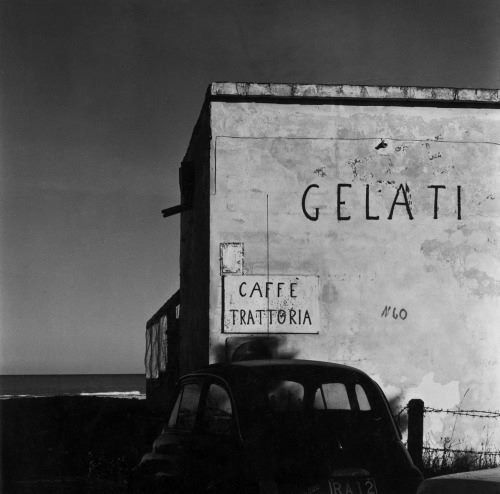 Fosso Ghaiaia, Italy 1971 By Guido Guidi