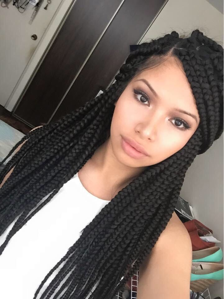 Protective Style H A I R G L O R Y Pinterest Box Braids Braids And Boxes