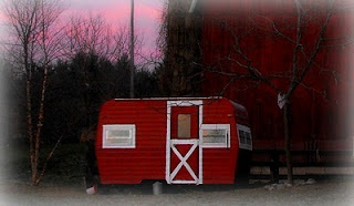 """Our Country Bungalow: The """"Hennebago""""....you know that camper sitting in our back yard?  Just sayin......"""