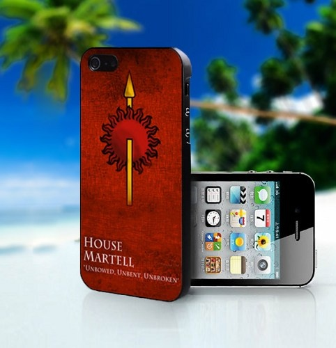 House Martell Logo - Photo On Hard Cover For iPhone 5