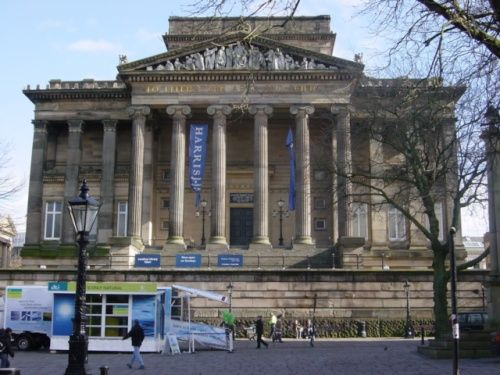 The Harris Museum, Preston. My favourite building - full of happy memories.