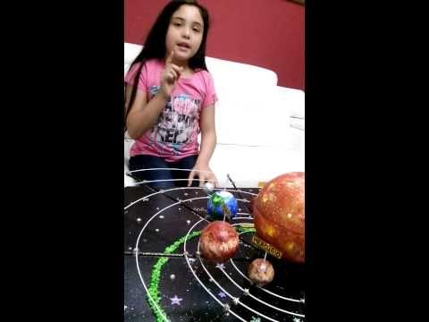 Sistema solar con movimiento muy fácil - YouTube