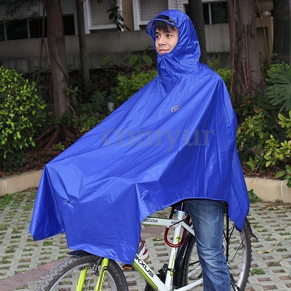 Fahrrad-Regenjacke-Regenponcho-Regencape-Regenschutz-Regenmantel-Regencape-Cape