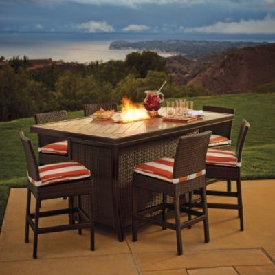 palermo counter height fire table from may catalog