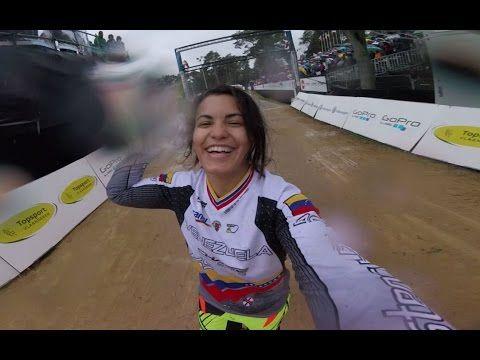 GoPro Final Run Stefany Hernandez - 2015 UCI BMX World Championships - #ilovegirlriders #iamagirlrider #ilgr #girlriders #bmx #uci #worldchamps #zolder