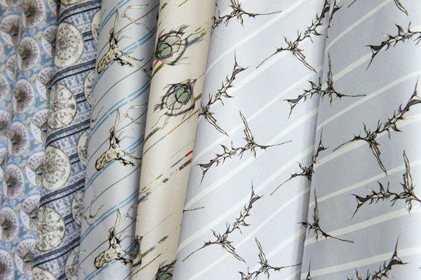 Bespoke cotton fabrics #heritage #pattern #design