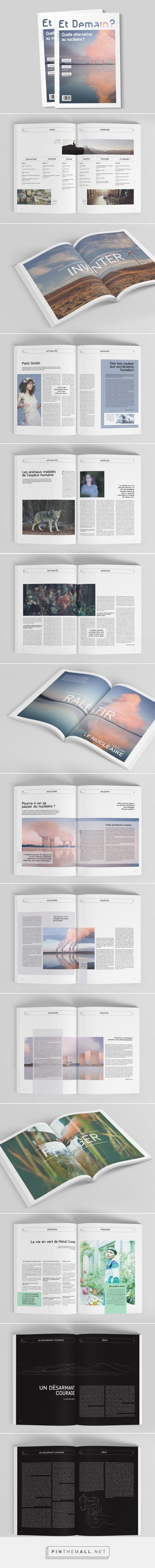 édition Et Demain Magazine on Behance a grouped images picture Pin Them…