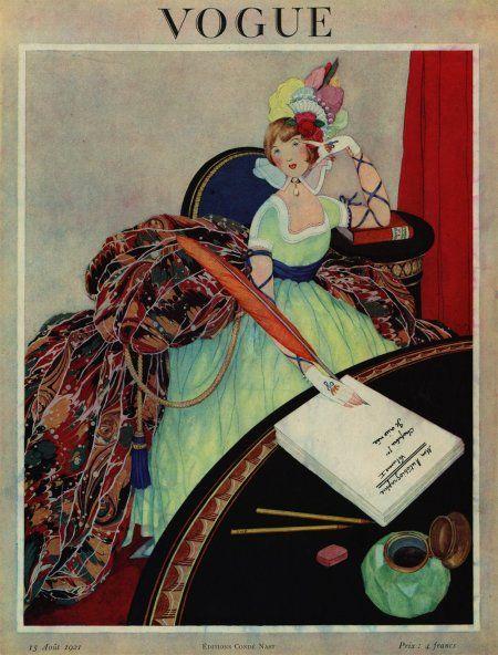 VINTAGE BLOG: Vogue 1928