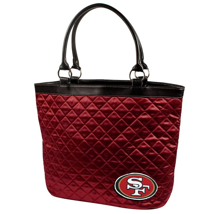 Carry Your Cell Phone Wallet And Keys In The Super Cute Sporty Little Earth Ncaae Quilted Tote A Heat Sealed Logo Of Favorite Collegiate Team