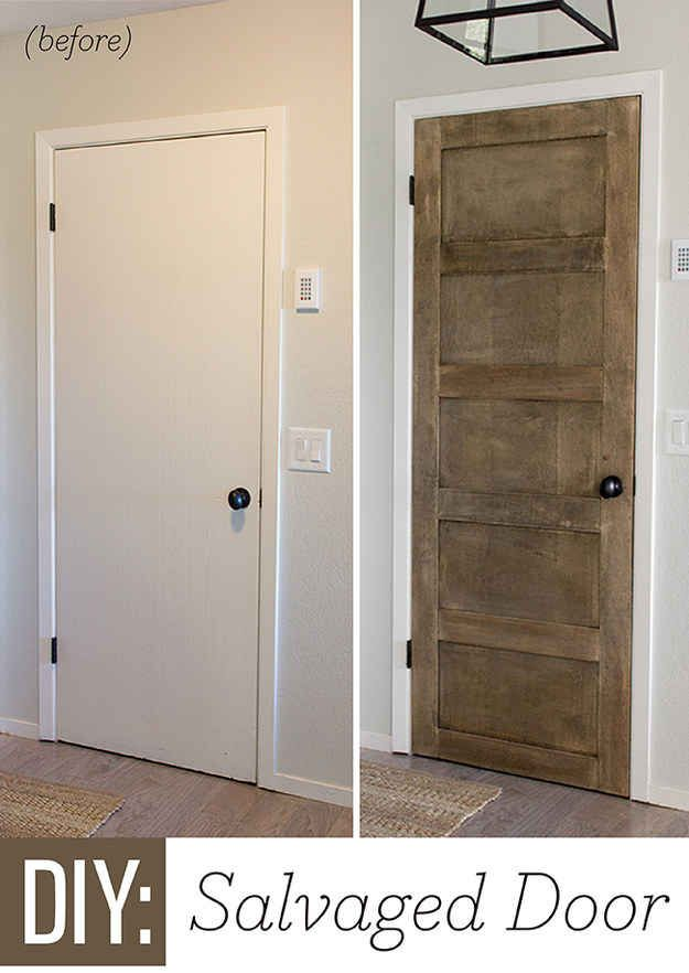Give your cottage doors a country facelift.
