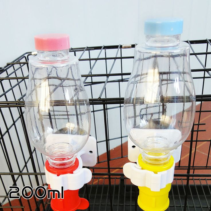 Pet Drinking Water Head + Double Head Water Bottle Convenient and Practical Double -headed Dog Water Dispenser Pet Water Bottle
