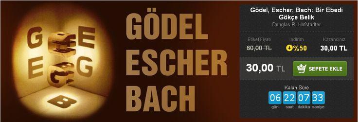 Günün Fırsatı: %50 İNDİRİM!  Gödel, Escher, Bach: Bir Ebedi Gökçe Belik Douglas R. Hofstadter Pinhan Yayıncılık  http://www.hesapkitap.com/godel-escher-bach-bir-ebedi-gokce-belik-174.html