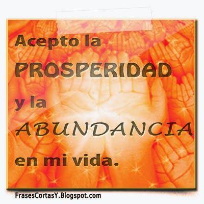 Afirmaciones de Abundancia y Prosperidad