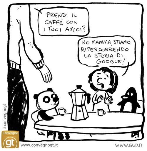La storia di Google in una vignetta