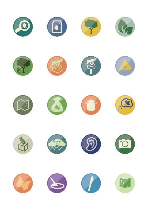 Some flat icons I'm kicking around