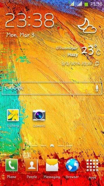 Note 3 Style Rom Picture for UltraPhone 701HD