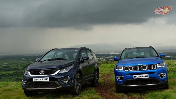 Tata Hexa vs Jeep Compass - Which should be your choice?  https://motoroctane.com/car-comparison/94675-tata-hexa-vs-jeep-compass