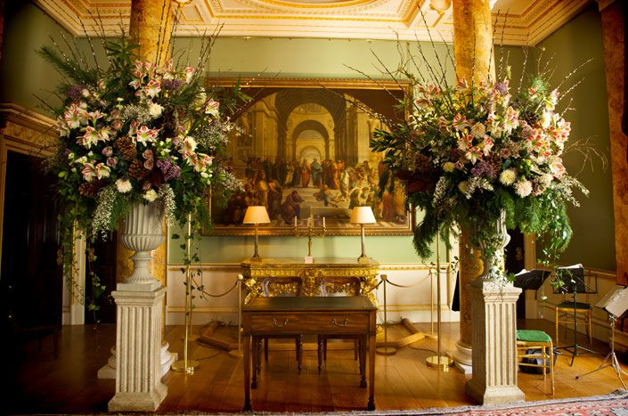 Room set for a reception at spencer House, london - Google Search