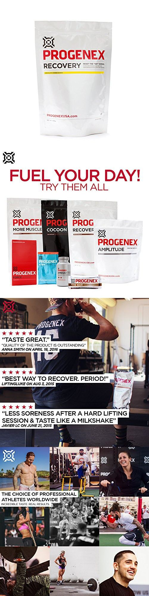 PROGENEX Recovery | Best Post Workout Supplement | Hydrolyzed Whey Protein Shake Drink Mix | Help Sore Muscles | Tastes Great | Incredible Results | 30 Servings, Chocolate Covered Banana