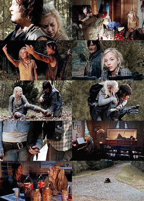 """""""You're gonna miss me so bad when I'm gone, Daryl Dixon."""" Beth & Daryl"""