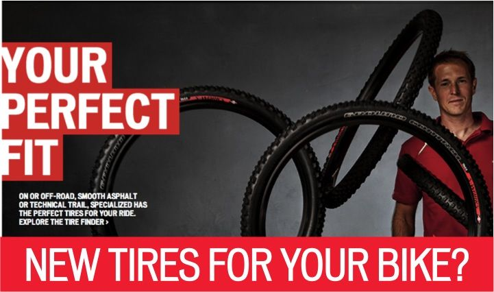 With so many options  choosing the best set of tires for your ride can be daunting. Check out this nifty tool.