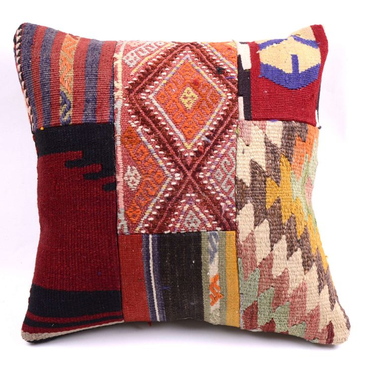 HAND WOVEN ORIENTAL TURKISH KILIM PILLOW COVER  Free Shipping Worldwide via DHL!
