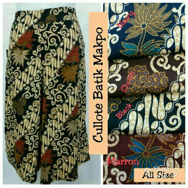 Saya menjual Cullote Batik Makpo seharga Rp55.000. Dapatkan produk ini hanya di Shopee! https://shopee.co.id/hamzahnisa21/692995438 #ShopeeID